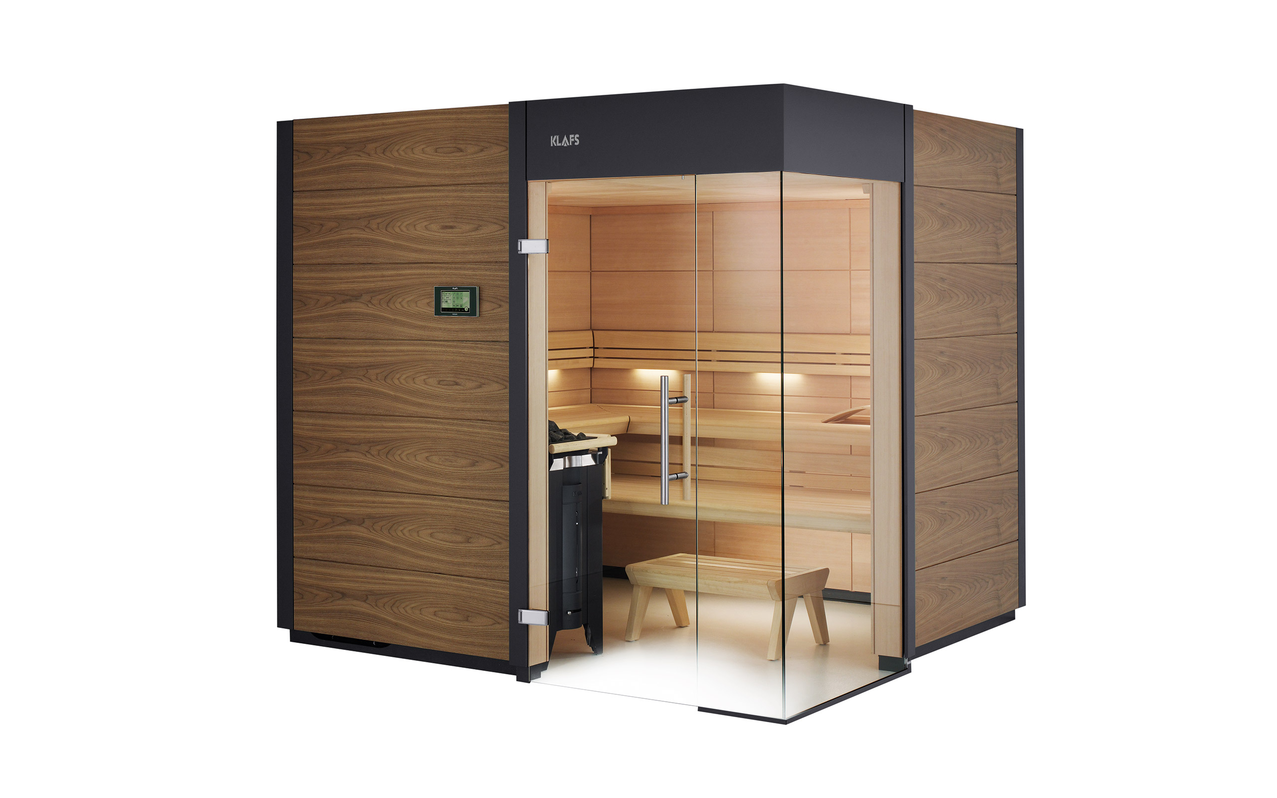 design sauna ventano die moderne und zeitlose sauna. Black Bedroom Furniture Sets. Home Design Ideas